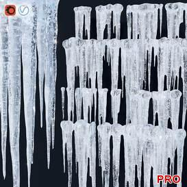Icicles 72 3d model Download 3dbrute