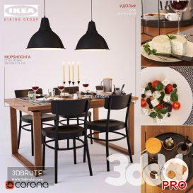 IKEA_dining group_3 45 3d model Download 3dbrute