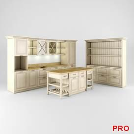 Kitchen 35 3d model Download 3dbrute