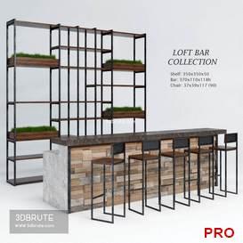 Loft Bar Collection 89 3d model Download 3dbrute