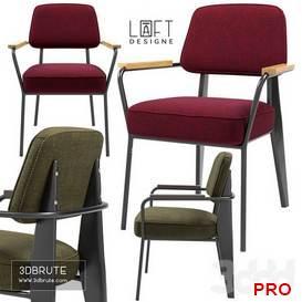 LoftDesigne Chairs 3604 3603 36 3d model Download 3dbrute