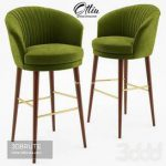 Lupino bar chair - Ottiu 56 3d model Download 3dbrute