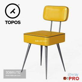 Manufactori Vinyl chair 30 3d model Download 3dbrute
