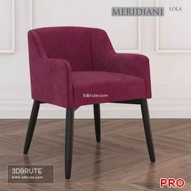 Meridiani Lola Chair 37 3d model Download 3dbrute