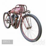 motorcycle Indian 71 3d model Download 3dbrute