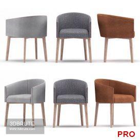 q chair 12 3d model Download 3dbrute