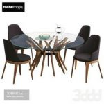 roche bobois set 62 3d model Download 3dbrute