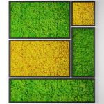 Vertical garden 10. Stabilized moss 42 3d model Download 3dbrute