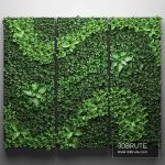 vertical garden 3d model 3dsmax