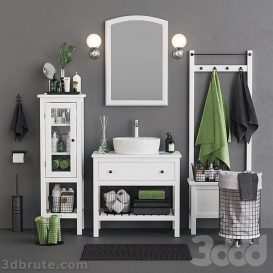 Ikea Open Hemnes Bath Set