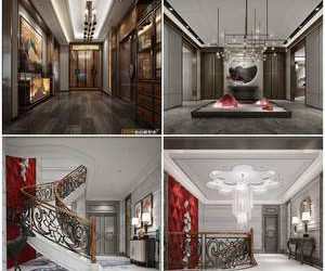 Sell Central lobby 3dmodel 2019 download  3dbrute