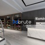 Store shop 3dsmax 3d model  Download Free