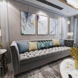 Living room 360 classic 3dsmax