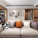 Modern Living room  render 360 3dsmax