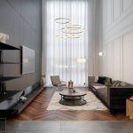Apartment Interior Livingroom VIP corona