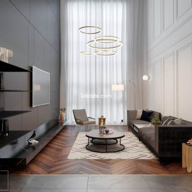 Apartment Interior Livingroom VIP corona