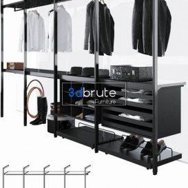 Porro Storage closets 3d model 3dsmax (1)