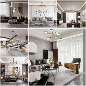 Sell Living room vol6 2019 set 3dmodel