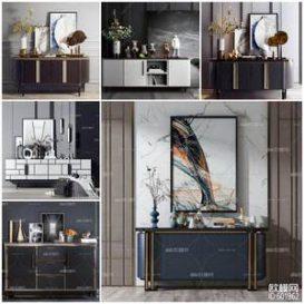 Sell Sideboard 2019 vol 2 set 3dmodel