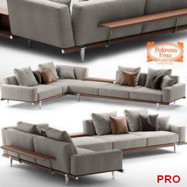 Sofa poltronafrau LET IT BE 10 3d model Download 3dbrute