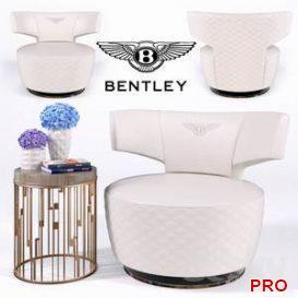 Armchair BULL ARMCHAIR (Bentley Home)  3d model  Buy Download 3dbrute