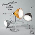 Glass by Foscarini & Diesel Table lamp 4