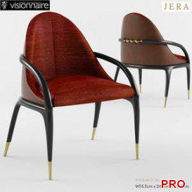 Visionnaire Jera Padded Chair  3d model  Buy Download 3dbrute