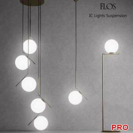 Flos IC Lights 17 3d model Download 3dbrute