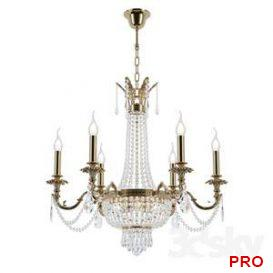 Chandelier Ancona E 1.6.6.200 GB 19 3d model Download 3dbrute