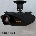 Projector samsung A8000  3d model  Buy Download 3dbrute