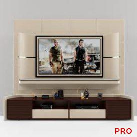 Turri tv unit  3d model  Buy Download 3dbrute