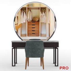 Dressing table  3d model  Buy Download 3dbrute