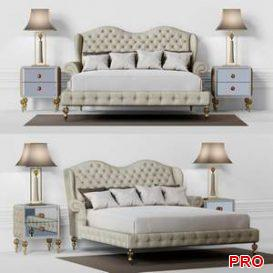DOLFI ADELAIDE BED  3d model  Buy Download 3dbrute