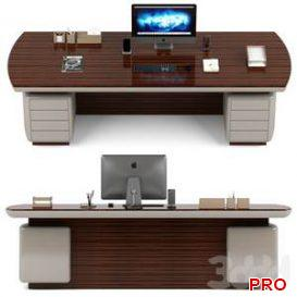 New design office table  3d model  Buy Download 3dbrute