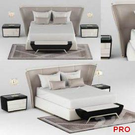 melting light bed  3d model  Buy Download 3dbrute