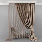 Curtain_06 23 3d model Download 3dbrute