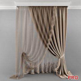 Curtain_06 23 3d model Download 3dbrute