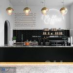 COFFEE SHOP (vray GGX, corona PBR)