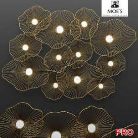 Lily Pad Wall Decor  3d model  Buy Download 3dbrute