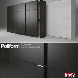 Poliform Bangkok 1 3d model Download 3dbrute