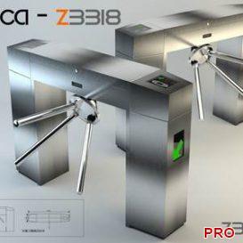 Fujica - Z3318 Entrance Barrier Gate 2 3d model Download 3dbrute