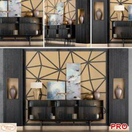 Wardrobe LLOYD  Poltrona Frau  3d model  Buy Download 3dbrute