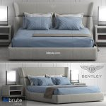Bentley home Lancaster Bed 3d model