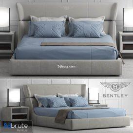 Bentley home Lancaster Bed 3d model