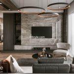 Livingroom  render by corona and  3dsmax
