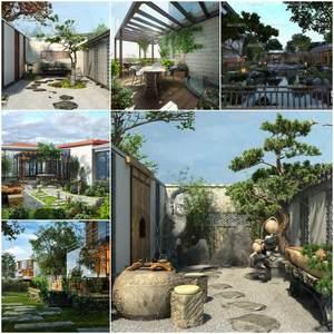 Sell Landscape 2019 vol 1 3d model Download 3dbrute