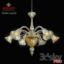Chandelier Sylcom Venier 1420 3d model Download 3dbrute