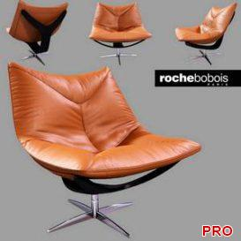 Roche Bobois Dolphin armchair 3d model Download 3dbrute