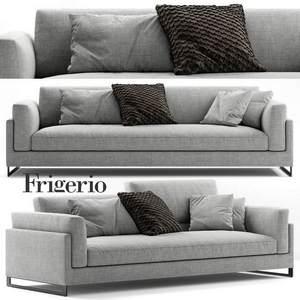 Frigerio Salotti Davis In Sofa 3d model Download 3dbrute
