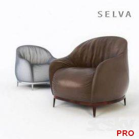 SELVA BALI ARMCHAIR 3d model Download 3dbrute